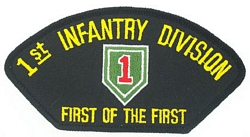 1st Infantry Division Patches